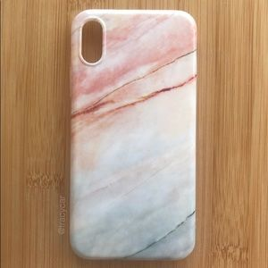 Accessories - NEW Iphone X Marble Stone Case
